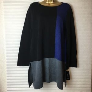 ALFANI Colorblock sweater Woman Size Medium